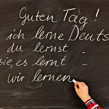 ドイツ語レッスン